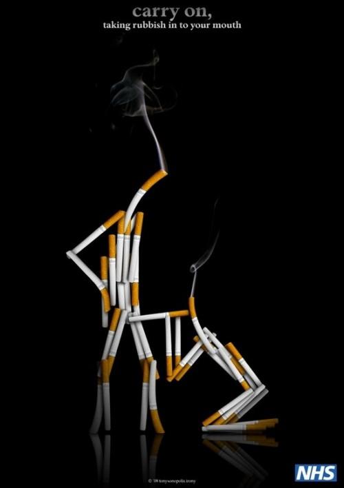 30 лучших плакатов против курения